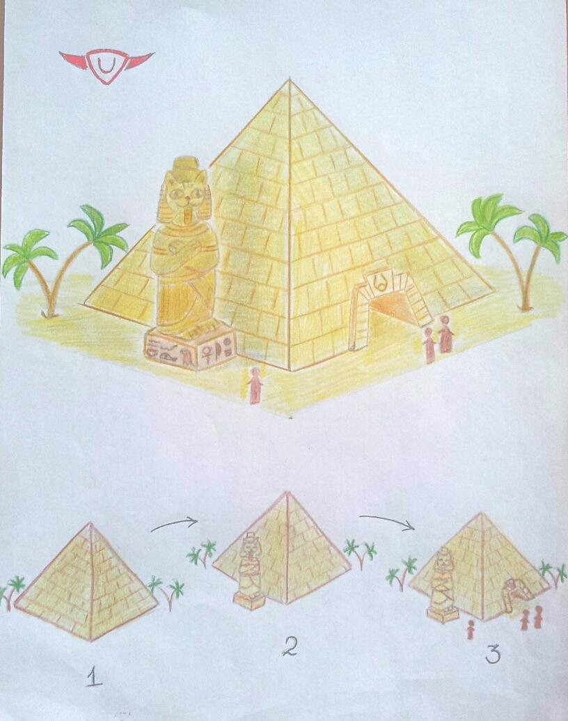 The Pyramid of Meaw-ops./ Пирамида МЯУопса.
