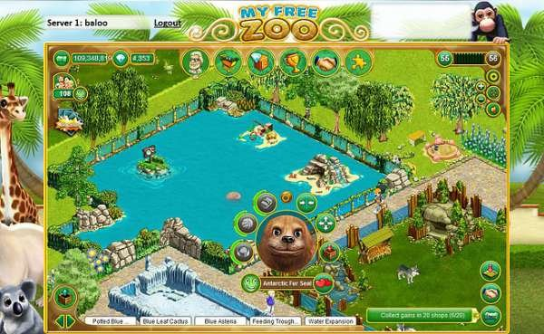 build your own zoo games online for free